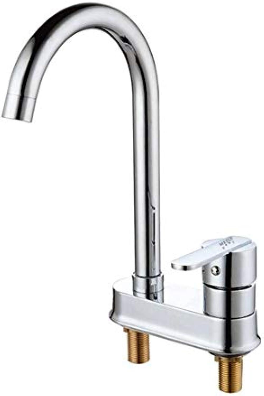 Bad Wasserhahn Kupfer Hei Und Kalt Spülbecken Wasserhhne Küchenarmatur Einzigen Griff Doppel Loch
