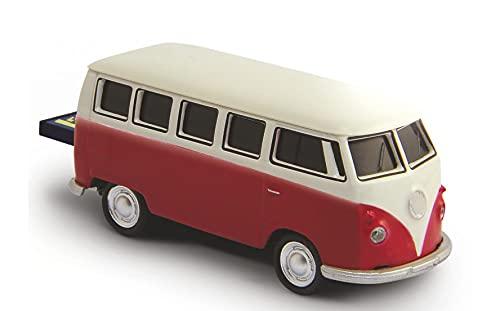 AutoDrive, USB 2 Flash Drive, Bus T1 Bulli, 32 GB, rot