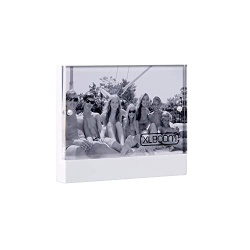 XL Boom Cadre Photo, Bois, Blanc, x
