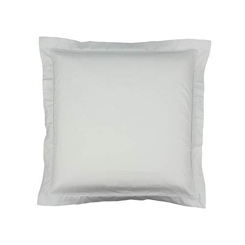 Drap House Taie d'oreiller Satin 65x65 Blanc - Couleur: Blanc