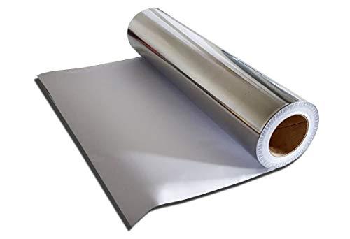 Alufolie, selbstklebend 550 mm / 1,0 lm - laufende Meter Rollware