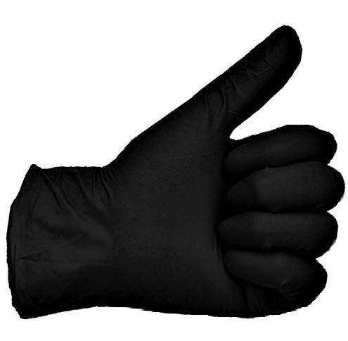 200 Vakly Black Latex Gloves Powder Fr Buy Online In Grenada At Desertcart
