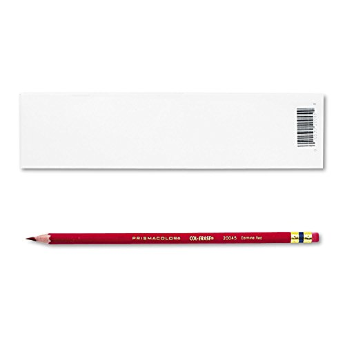 2 DOZEN: Prismacolor Col-Erase Erasable Colored Pencil Carmine Red
