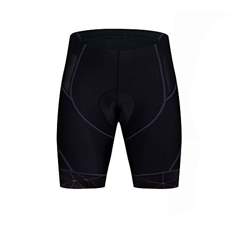 Pantalones Cortos Ciclistas Pantalones cortos de ciclismo Ropa interior acolchada 4D Pantalones cortos de ciclismo deportivos de MTB transpirables de secado rápido para el Entrenamiento de Ciclismo en
