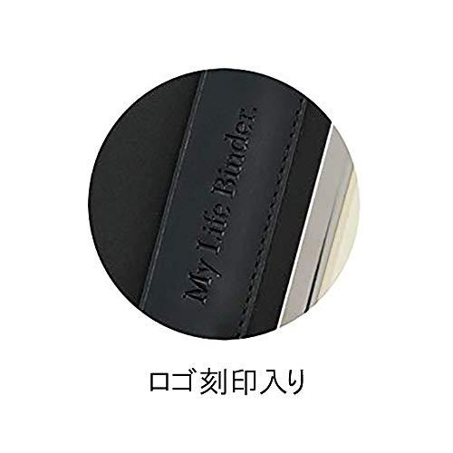 レイメイ藤井エンディングノートシステム手帳型A5ネイビーMLB340K