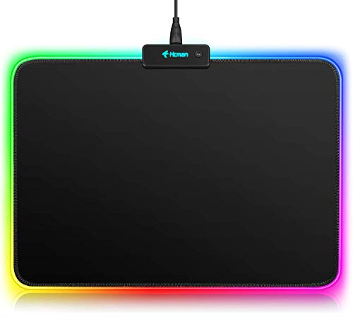 rgb gaming mouse pad small