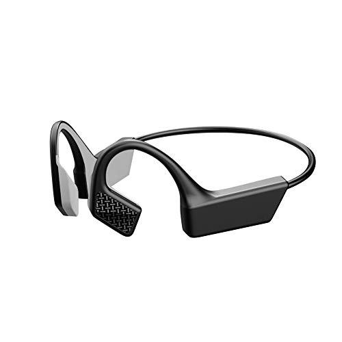 Wireless Sport Earbuds, SANTITY 5.0 Open Ear bone Conduction Headphones, Black Sweatproof...