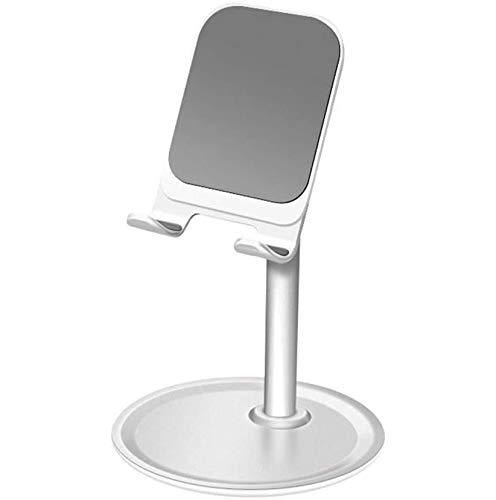 Soporte de teléfono para escritorio, tableta, soporte de escritorio ajustable, manos libres, compatible con iPad Mini iPhone 12 11 Pro Max XR XS 8 7 6S SE 2020 Samsung S20 S10 A21s A71 A51 Huawei Sony