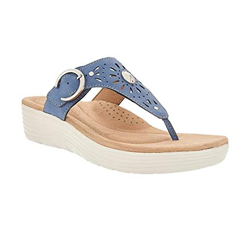 RONGCHUANG Dames Flip Flops sandaal zomer strand sandalen antislip comfortabele boogsteun sandalen casual tangasandalen sport platte slides schoenen comfortabele wandelzachte sandalen