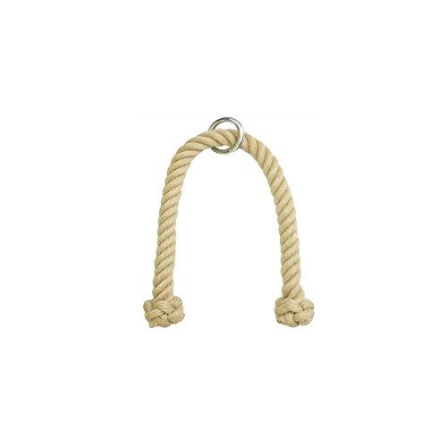 Das professionelle Trizeps Seil aus Polyhanf 28 mm 83 cm Trizepsseil Trizeps Tau Trizepstau Seil Kraftstation Zughilfe Kabelzug