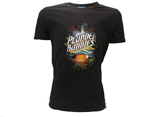 Epic Games Camiseta original Fortnite para niño con diseño de cabeza de pez Negro 13-14 Años
