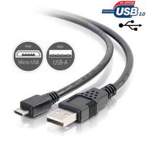 Cable de datos USB para Nikon Coolpix P900 (1,8 m)