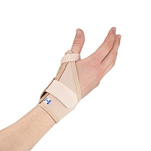 Férula, órtesis y Espica elástica para Pulgar – Reduce el dolor de...