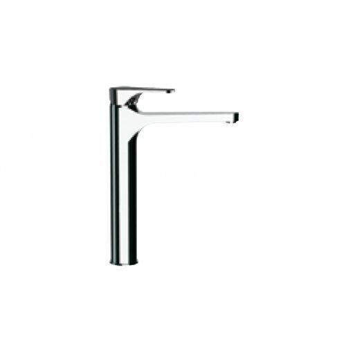 Grifo monomando lavabo grande con desagüe Altura 24.5cm cromo Mariani Serie Surf