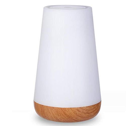 Sunneey Indoor Bluetooth luidsprekerlamp, led-nachtlampje, sluimerlicht, sfeerlicht met USB-stopcontact, batterij (Baby-veilig, onbreekbaar, oogvriendelijk) cadeau