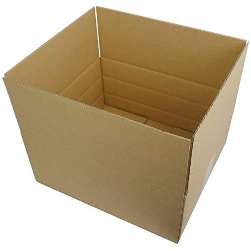50 StückFaltkartons Versandkartons optimiert für denWarenversand Kartonversand Aussenmaß: 350x250x150 mm