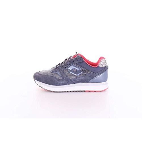 Lotto Leggenda E9160 Sneaker Donna blu/Silver Slice Denim Scarpe Shoe Woman [41]