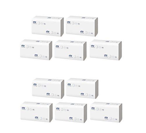 Tork Xpress Multifold Papierhandtücher 150100 - H2 Universal Falthandtücher für Handtuchspender - mehrfach gefaltet, 1-lagig, weiß - 10 x 230 Tücher (2300)