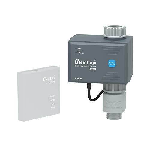 LinkTap G2S Computer per Irrigazione Intelligente - Richiede Gateway - Programmatore di Irrigazione Automatica, Riconosce Le Condizioni Meteo, Facile da Usare, Accesso Remoto, Meglio del Timer WiFi