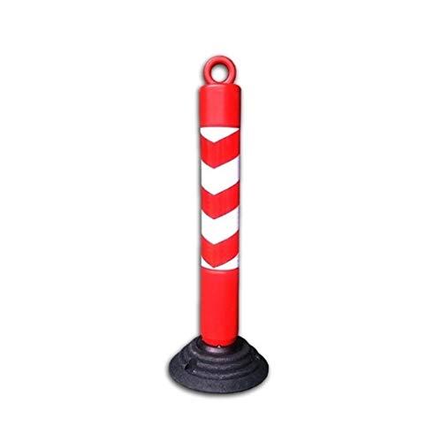 PE Roadblock Pile, Anti-Impact Hoge Rebound Waarschuwing Paal Road Junction Parkeerplaats Veel Beveiliging Hek Isolatie Paal 26 * 26 * 80CM 26 * 26 * 80CM B