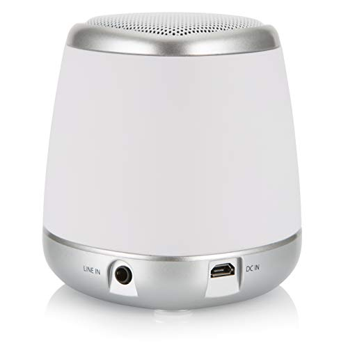 Audiosonic SK-1505 - Altavoz Bluetooth con batería Recargable, Color Blanco
