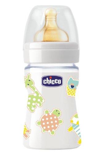 Chicco baby Naturaleza Cristal látex Biberón 150ml