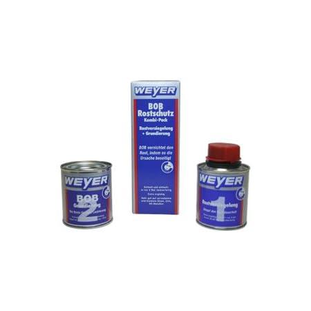 Weyer Wy10101 Bob Combination Pack With Bob Rust Sealant And Bob Primer 2 X 100 Ml Auto