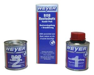 Weyer WY10101 Bob Kombipack - bestehend aus Bob Rostversiegelung und Bob Grundierung, 2 x 100 ml