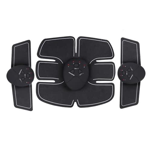 Shapewear Electroestimulador Muscular Abdominales Masajeador Eléctrico Cinturón,Estimulador Abdomen/Brazo/Piernas/Cintura Entrenador, USB Recargable, 6 Niveles de Intensidad (Hombre/Mujer)