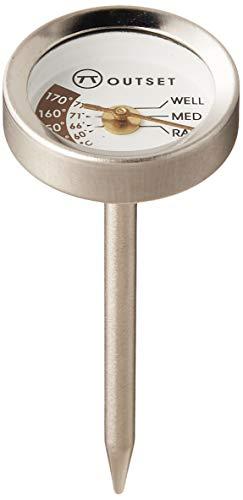 Outset F804 Steak Thermometers, Metallic