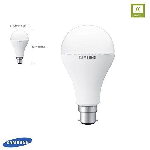 SAMSUNG ampoule lED b22d 12,2W = 75 w 2700 k 1100lm 251051 gB8WH3012BF1EU lampe à incandescence
