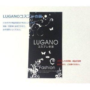 『LUGANO アクエリオンEVOL ゼシカ ウォン 風 クリスマス ハロウィン イベント仮装 コスチューム コスプレ衣装 (女L)』の3枚目の画像