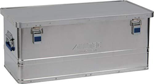Alutec Transportkiste Basic 80 - Aluminium Box 80 Liter mit Deckel verschließbar