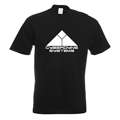 Cyberdyne Systems Terminator T-Shirt Motiv Bedruckt Funshirt Design Print