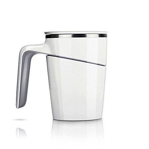 iRULU doppelwandige Stehauf-Tasse aus Edelstahl mit Saugnapf