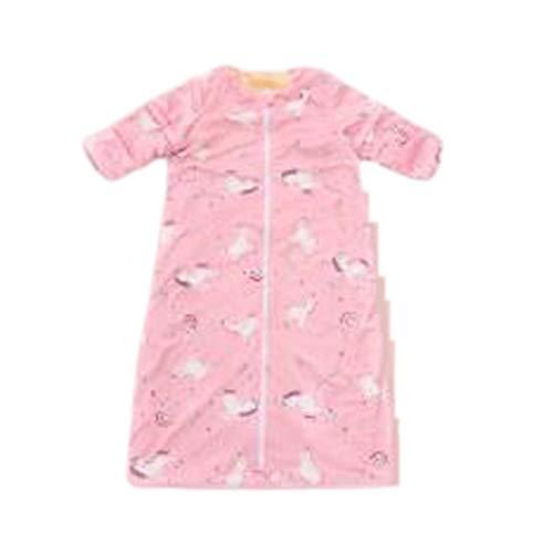 LXX El Dormir recién Nacido del bebé Bolsa de Invierno Espesan Interior Acampar al Aire Libre Uso de Pijamas Niños Bolsas Unisex Niño 1 Pc (Color : Colorful Pony, tamaño : Small)