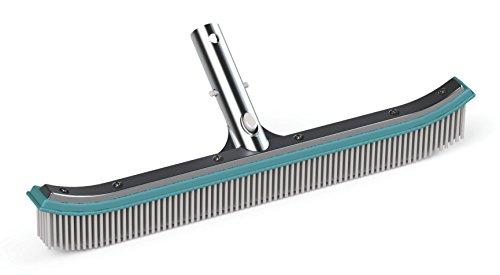 Bayrol Cepillo 45cm con trasera de aluminio para piscinas