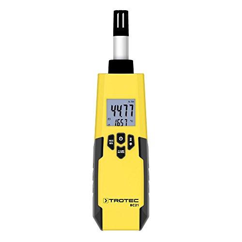 TROTEC BC21 Thermohygrometer Temperatur Messgerät Klima Messung