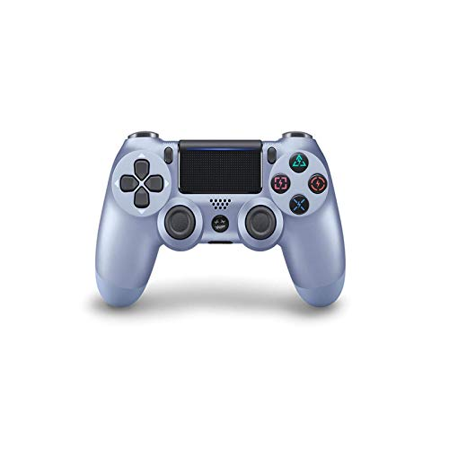 AEKE Wireless Controller für Playstation 4 - Joystick Gamepad Titanium Blue