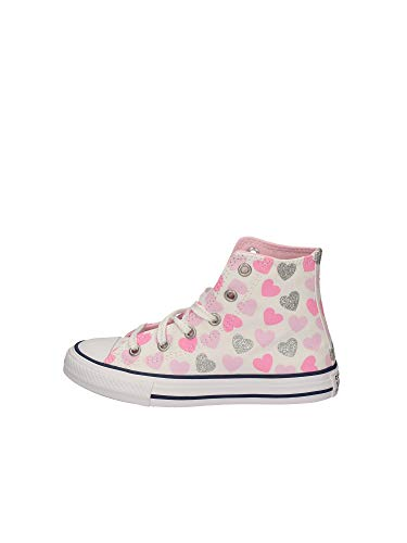 CONVERSE CTAS HI Zapatos Deportivos para Nina Blanco 668019C