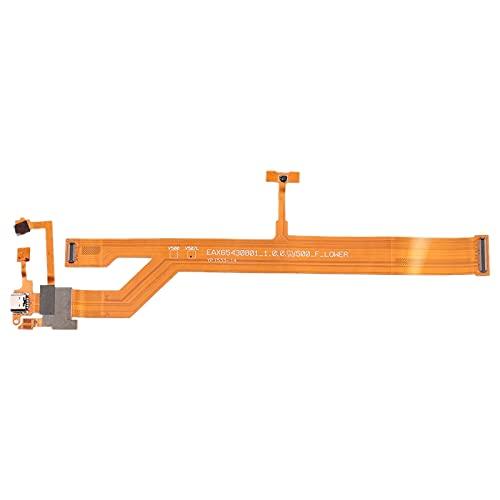 LIJUNGUO Puerto de Carga con micrófono y Altavoz Timbre zumbador Cable Flexible para LG G Pad 8.3 V500
