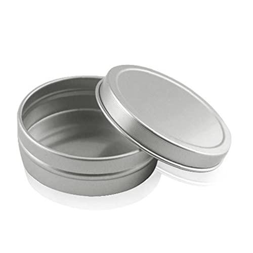 Estaño De Aluminio Tarros Pequeños Vacía Pot Mini Cosméticos Caja De Almacenamiento De Maquillaje Cremas Recipientes De Muestra