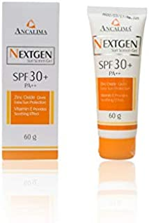 NEXTGEN Sun Screen Gel SPF 30+ 60gm Triple action sun protector