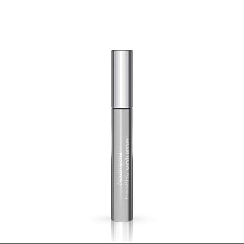 Neutrogena Healthy Volume Lash-Plumping Mascara, Volumizing and Conditioning Mascara with Olive Oil to Build Fuller Lashes, Clump-, Smudge- and Flake-Free, Carbon Black 01, 0.21 oz
