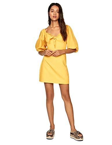 Pepe Jeans - PL952666 Linda 075 Savannah - Vestido Lino Mujer