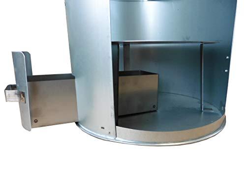 Euro Windkat Max - Affumicatore in acciaio INOX