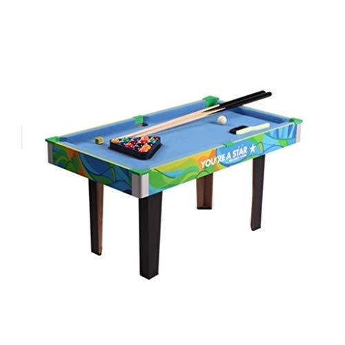 LCRACK Billardtisch Mit Zubehör Snooker-Bälle, Pool Queues, Spaß Dauerhaft Mini-Billardtisch for Zuhause Indoor Outdoor (Farbe : C)