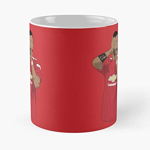 Manchester Fernandez Bruno United MUFC Fernandes Man Best Taza de café de cerámica de 325 ml