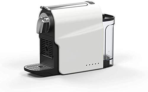 HYCQ 1350W Kaffeemaschine Vollautomatische italienische Kapsel Karaffe und One-Touch-Taste, Italienisch 15 bar Hochdruckpumpe, schnelle Brautechnik, Reisen und Küche