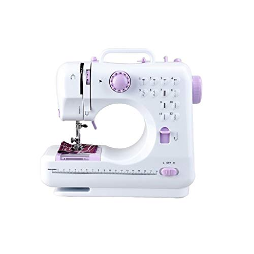 Review Home Sewing Machines Electric Sewing Machines Small Household Sewing Tool 2 Speed Double Thre...